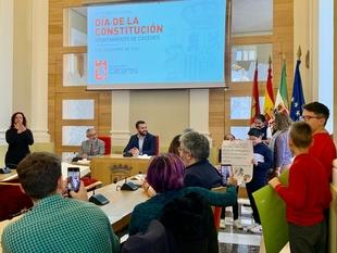 Conmemoración del 41º Aniversario de la Constitución Española