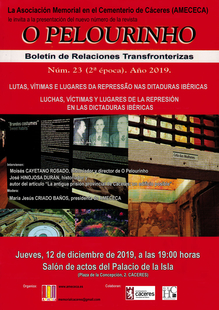 Presentación del Boletín de Relaciones Transfronterizas O PELOURINHO