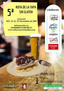 ENTREGA DE PREMIOS 5ª Ruta de la tapa sin gluten Cáceres