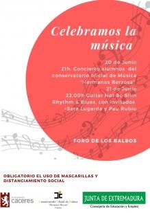 Conciertos con motivo 'Día de la Música'