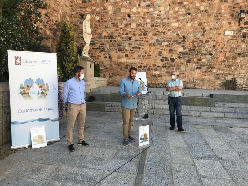 El Ayuntamiento de Cáceres trabaja con confederación hidrográfica una solución definitiva al problema de abastecimiento de agua en la ciudad