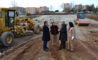 La Consejería de Fomento mejora el tramo urbano de la EX-206 en Cáceres, con una inversión de 885.000 euros
