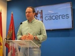 Ciudadanos apremia al Gobierno de Cáceres para que cumpla las condiciones del pacto de presupuestos