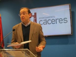 Cáceres invirtió el año pasado más de 840.000 euros en accesibilidad y mejora del pavimento de las vías públicas