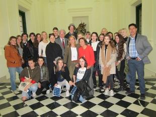 Estudiantes suecos visitan Cáceres en un intercambio cultural con el IES Norba Caesarina