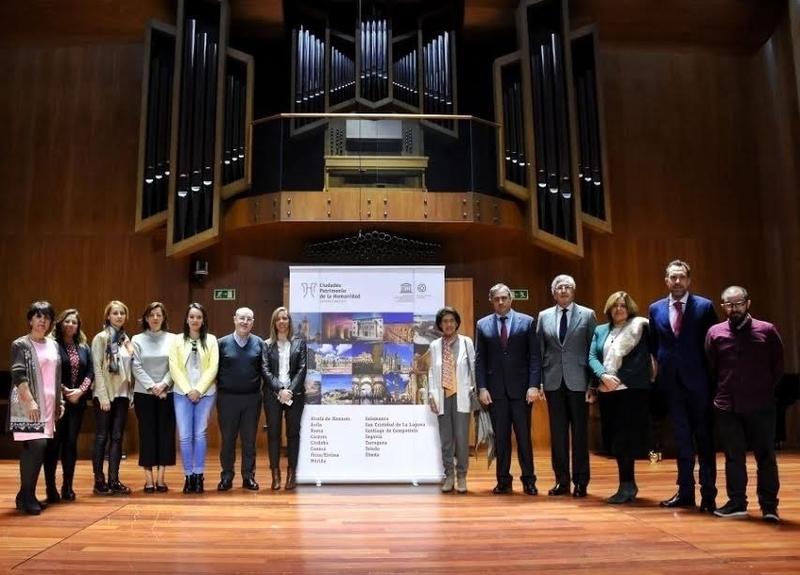 La Reina Sofía inaugura en Cáceres el IV Ciclo de Música de Cámara de las Ciudades Patrimonio de la Humanidad