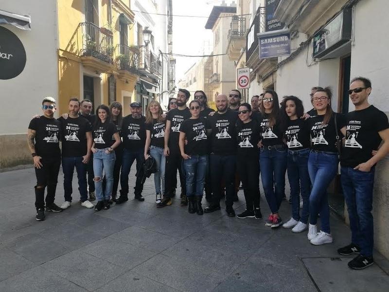 La zona de la calle Pizarro de Cáceres se convierte este sábado en el Paseo de las Estrellas del Festival de Cine