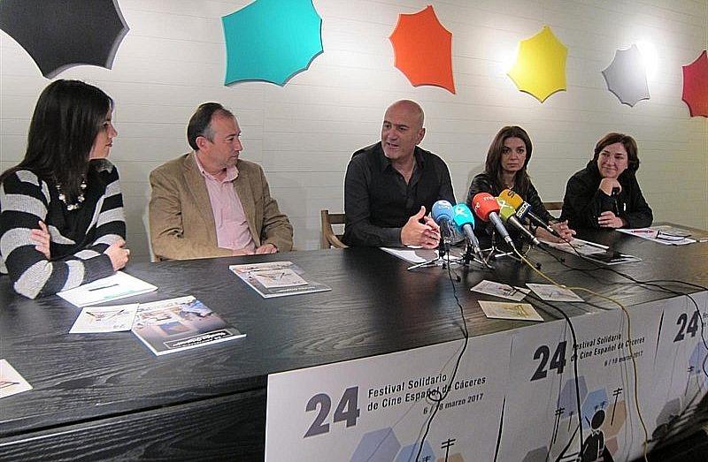 El 24º Festival Solidario de Cine Español de Cáceres crece en participación y apoyos