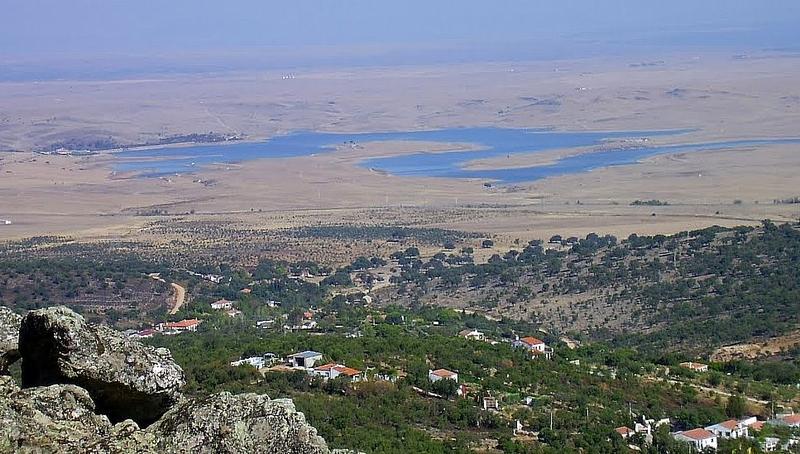 El pantano de Guadiloba en Cáceres se encuentra al 54%, lo que garantiza el abastecimiento para el verano