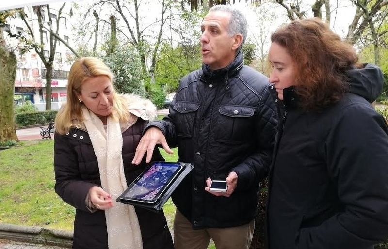 Cáceres, pionera en instalar un sistema de riego inteligente en todas las zonas verdes de la ciudad