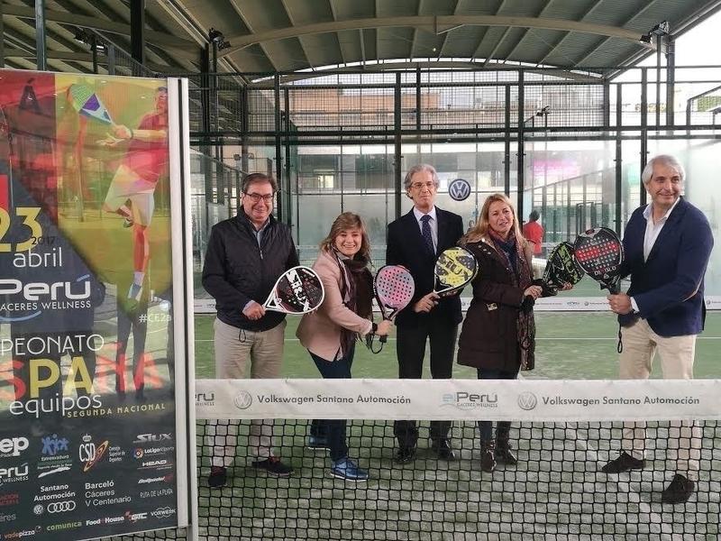 Un total de ocho clubes españoles competirán en el centro deportivo El Perú de Cáceres por llegar a la élite del pádel