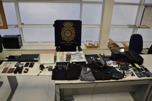 Ocho detenidos acusados de 13 robos con fuerza en domicilios y oficinas de Cáceres