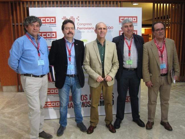 El Sector Ferroviario de CCOO celebra su congreso en Cáceres en defensa de un ferrocarril que equilibre el territorio