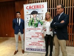 Cáceres recupera los toros en la feria de San Fernando con Ferrera, Perera y El Juli en la Era de los Mártires