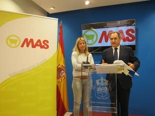 El grupo MAS abre en Cáceres su primer supermercado donde creará veinte puestos de trabajo
