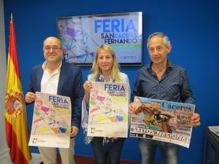 La Feria de San Fernando en Cáceres arranca este viernes y se prolonga diez días