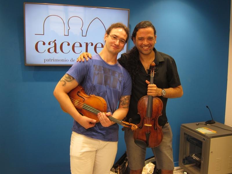 Profesores y alumnos de diferentes países participan en Cáceres en el I Festival Internacional de Música Clásica
