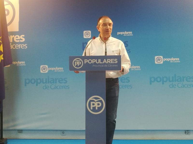 El PP de Cáceres achaca a