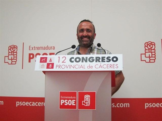 Miguel Ángel Morales, reelegido secretario provincial del PSOE en Cáceres con el 59% de los votos