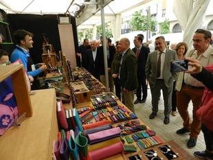 Casi 60 expositores presentan sus productos en la Muestra Agroalimentaria y de Artesanía de Cáceres