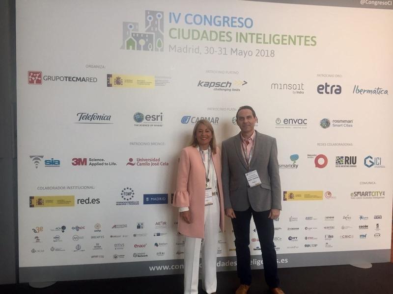 Cáceres expone el proyecto 'Visor del Potencial Solar Fotovoltaico' en el Congreso de Ciudades Inteligentes