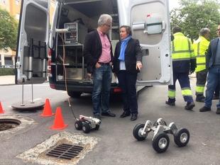 Cáceres incorpora nuevos equipos para inspeccionar y limpiar el alcantarillado de la ciudad