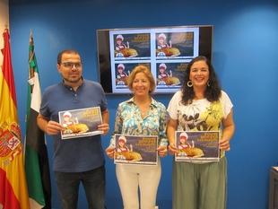 Un bocadillo gigante de jamón recauda fondos en Cáceres para niños autistas y para enfermos de esclerosis múltiple