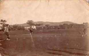 El plano del primer campo de fútbol de Cáceres de 1923 se expone
