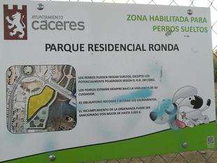 Natura 2000 pide medidas urgentes para mejorar las zonas caninas de Cáceres