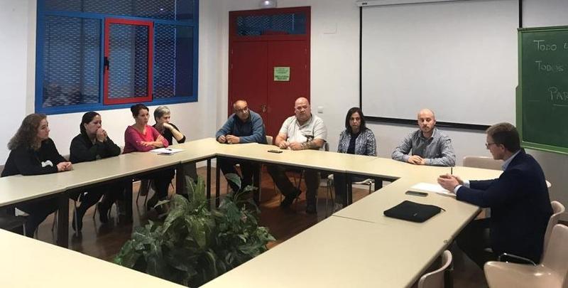 Ciudadanos Cáceres demanda soluciones a los problemas de infraestructuras, transporte público y limpieza de calles del distrito sur