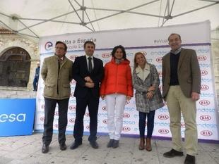 Llega a Cáceres la 6ª etapa de la II Vuelta de España en vehículo eléctrico