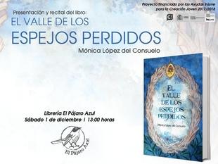 La escritora Mónica López del Consuelo visita Cáceres en su gira ''El valle de los espejos perdidos''
