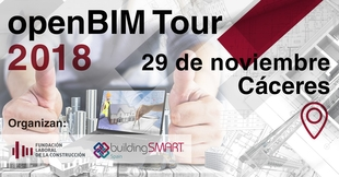 Cáceres se convertirá en la tercera parada de la ruta ''OpenBIM Tour 2018'' este jueves