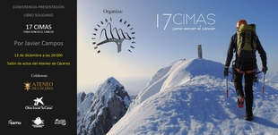 Presntación de ''17 Cimas para vencer el cáncer''