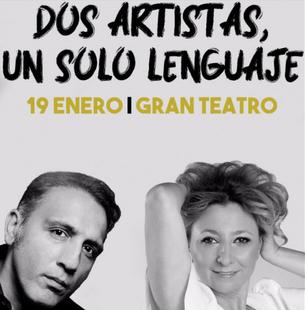 Pilar Boyero y El Negri entregan su alma en el espectáculo ''Dos Artistas, un sólo lenguaje''