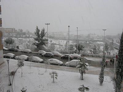 El Centro 112 activa para hoy viernes la alerta por nieve en el norte de Cáceres
