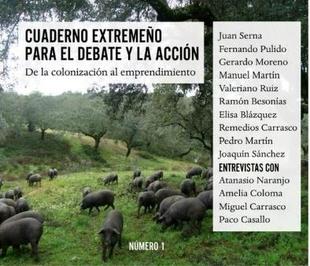 Presentación de el libro 'Cuaderno extremeño para el debate y la acción'