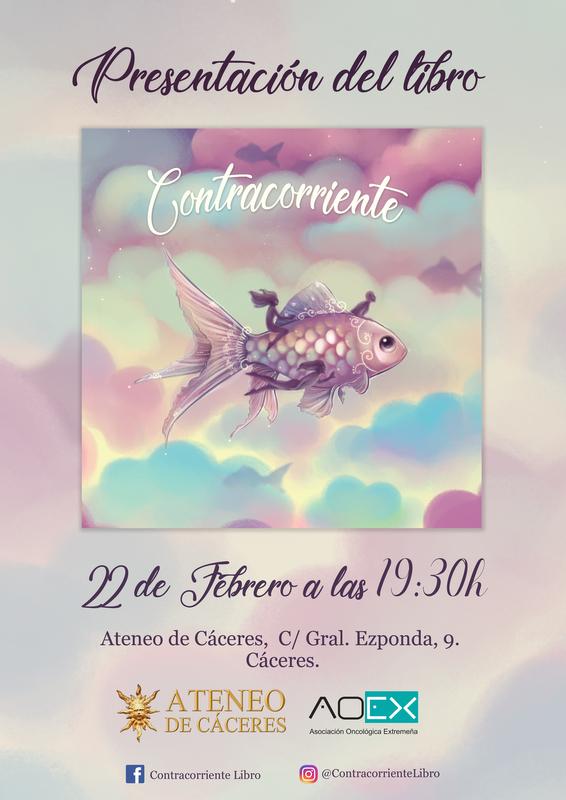 La Asociación Oncológica Extremeña (AOEx) presenta el próximo el libro Contracorriente
