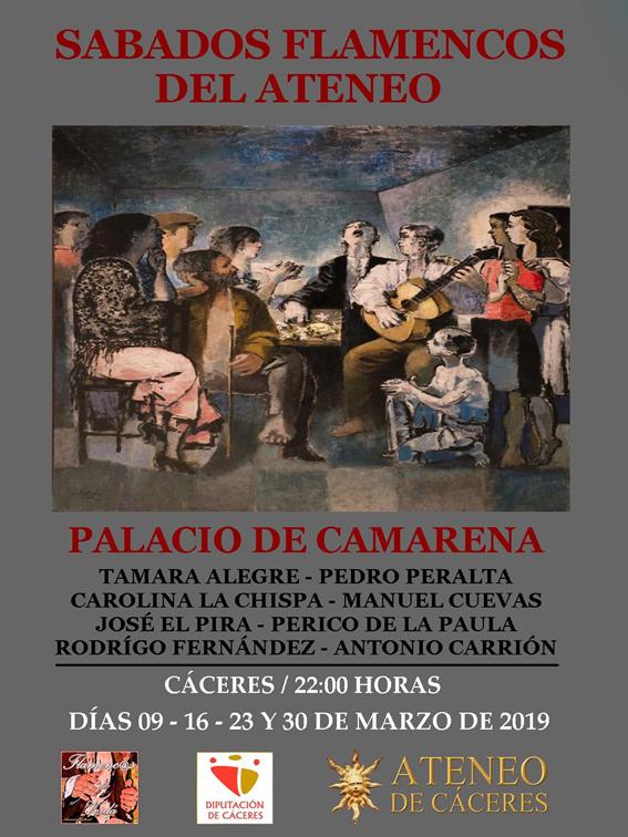 Sábados flamencos en el Ateneo