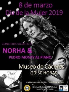 Concierto acústico de Norha y Pedro Monty