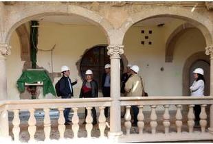 La Casa Pereros de Cáceres va tomando forma de nuevo Colegio Mayor Francisco de Sande