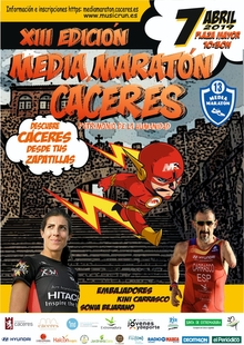 Casi seiscientos deportistas confirmados ya en la nueva Media Maratón de Cáceres