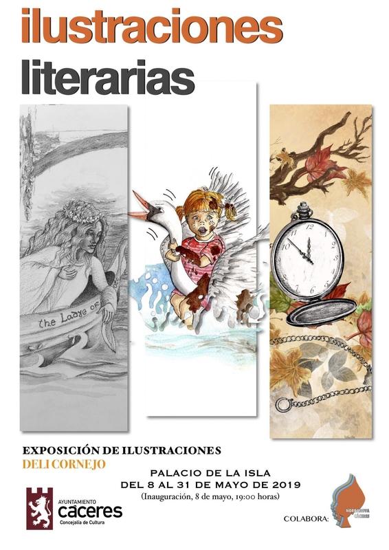 El Palacio de la Isla inaugura la exposición 'Ilustraciones literarias', de Deli Cornejo