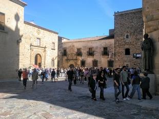 Más de 45.000 turistas eligen Cáceres como destino turístico para disfrutar del Puente de Mayo