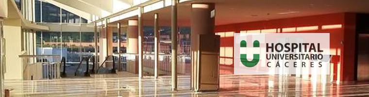 El Hospital Universitario de Cáceres atenderá las Urgencias y ofrecerá el Servicio de Hospitalización desde el próximo martes 28 de mayo