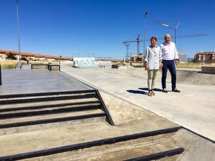 Finalizan las obras del complejo deportivo de skatepark en La Mejostilla