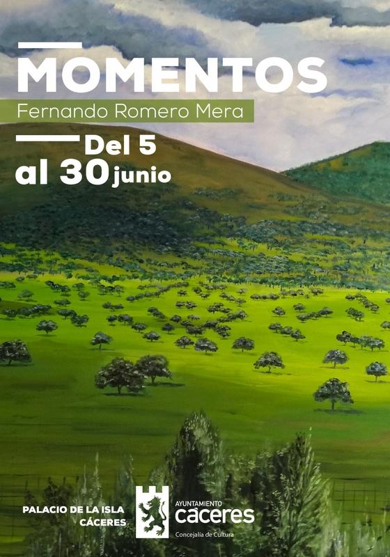 El Palacio de la Isla acoge la exposición 'Momentos' del pintor Fernando Romero Mera