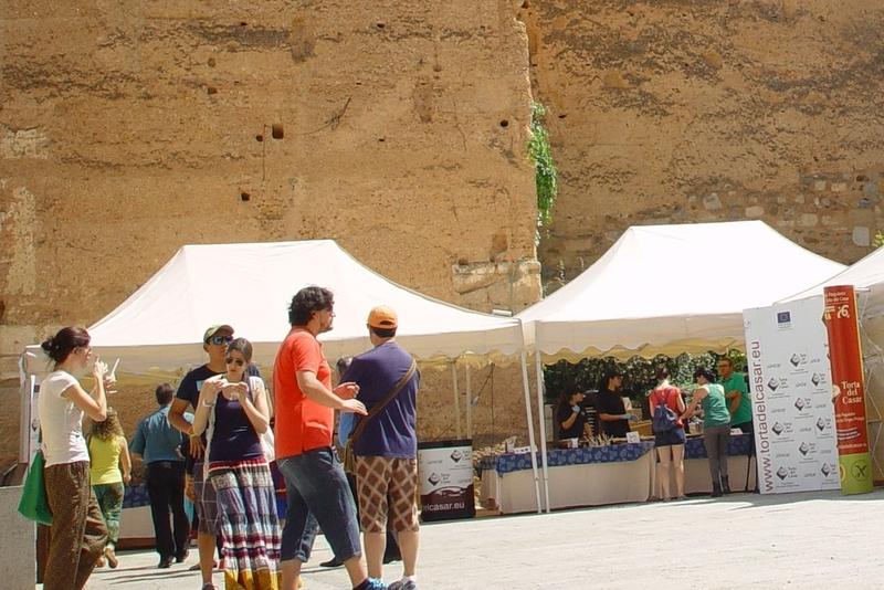 La D.O.P. Torta del Casar invita a 3.000 tapas en la Plaza Mayor de Cáceres