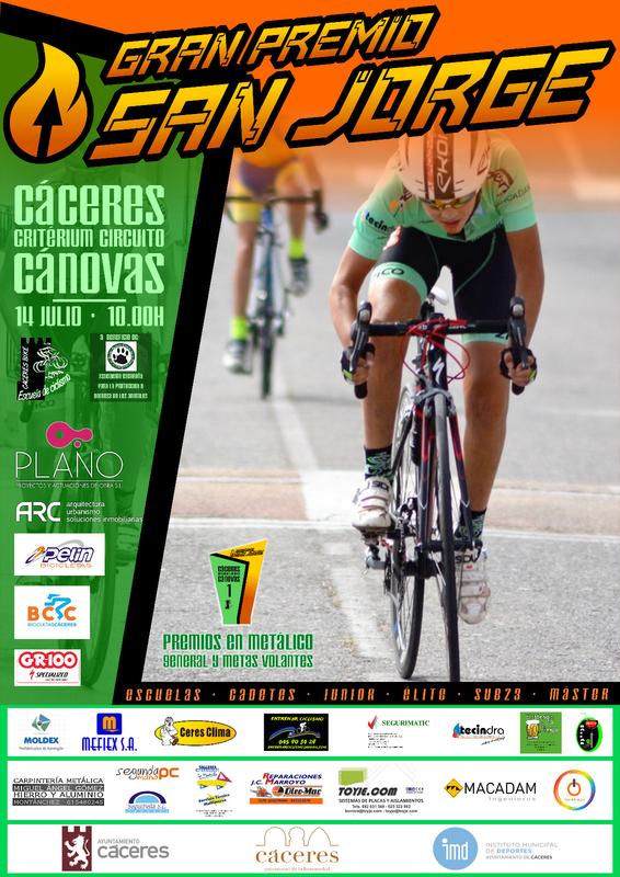 Ciclismo en el corazón de Cáceres GP San Jorge 2019