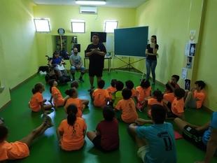 Mas de 150 niños participaron en la actividad de ''cambia el chip'' en el Safyde